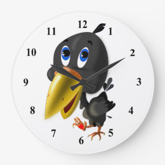 Boko 1 - Round Wall Clock
