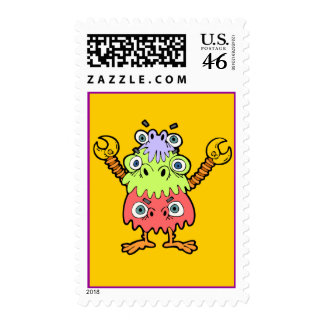 BoKoo-Lue Monster Postage