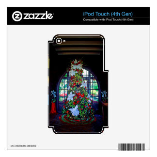 Boks Christmas Tree Skin For iPod Touch 4G