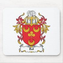 Bol Family Crest Mousepad