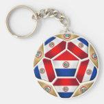 Bola 2010 de Paraguay 2014 regalos del balón de fú Llaveros