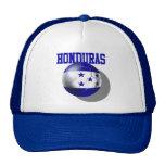 Bola 2014 de la bandera del Brasil Honduras del fú Gorras