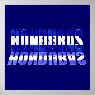 Bola 2014 de la bandera del Brasil Honduras del fú Impresiones