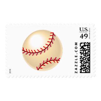 Bola 2 del béisbol sello