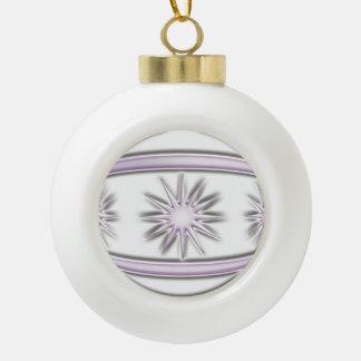 Bola #7 del navidad adorno de cerámica en forma de bola