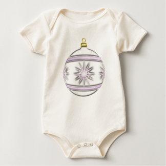 Bola #7 del navidad body para bebé