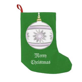 Bola #7 del navidad bota navideña pequeña