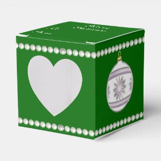 Bola #7 del navidad cajas para detalles de boda