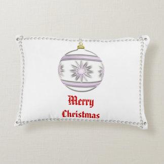 Bola #7 del navidad cojín decorativo