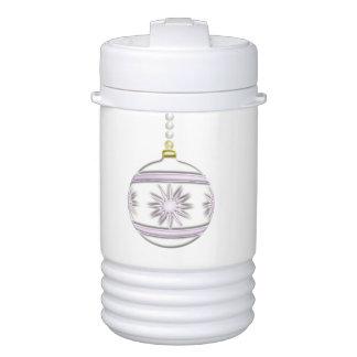 Bola #7 del navidad enfriador de bebida igloo