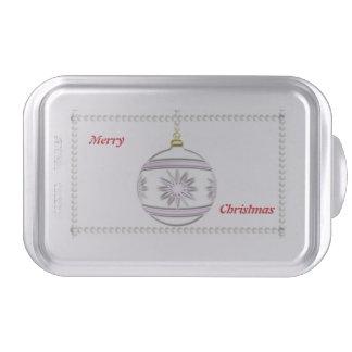 Bola #7 del navidad molde para pasteles