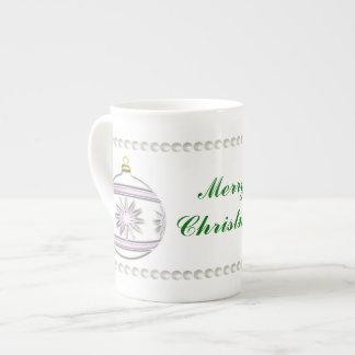 Bola #7 del navidad taza de té