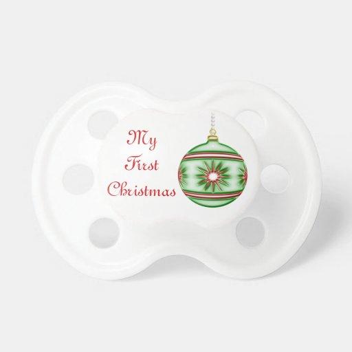 Bola #8 del navidad chupetes de bebe