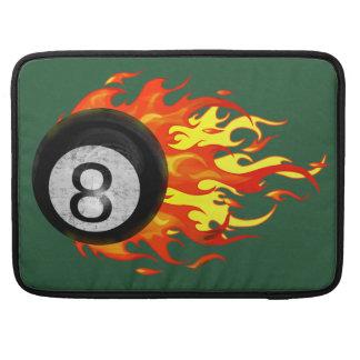 Bola 8 el flamear funda para macbook pro