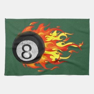 Bola 8 el flamear toallas de cocina