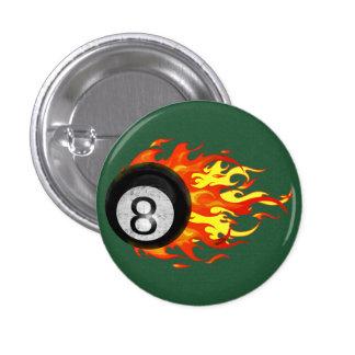 Bola 8 el flamear pin