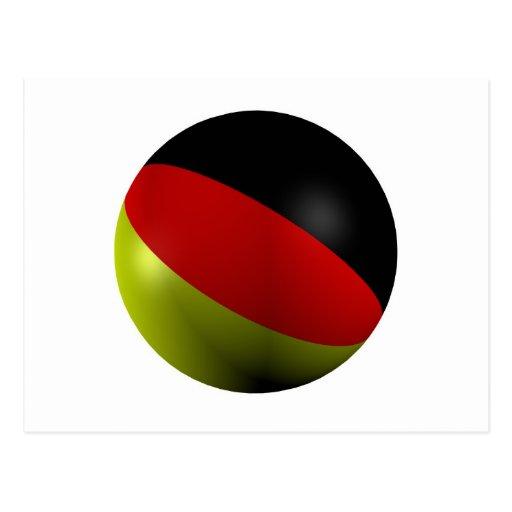 Bola alemana postales