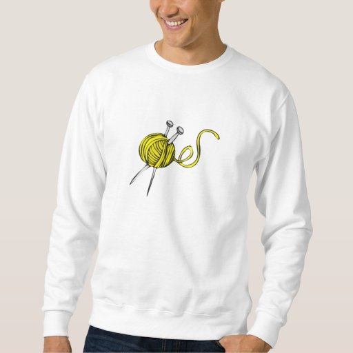 Bola amarilla del hilado sudadera con capucha