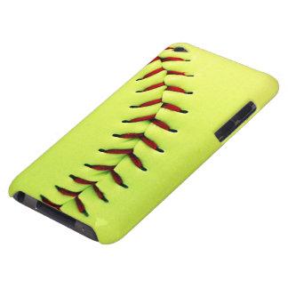 Bola amarilla del softball iPod touch cobertura