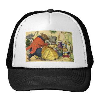Bola animal del navidad gorra