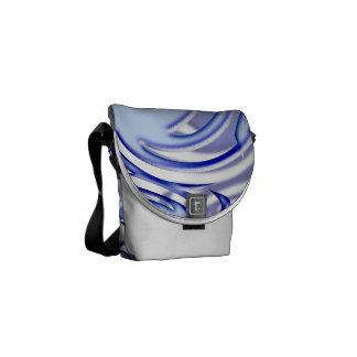 Bola azul bolsas de mensajeria