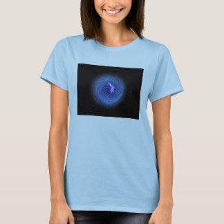 Bola azul de la camisa de la energía