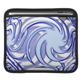 Bola azul mangas de iPad