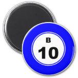 Bola B del bingo Iman