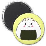 """Bola de arroz de Kawaii """"Onigiri"""" con los desmoche Iman"""