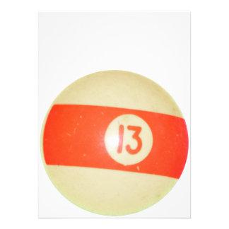 Bola de billar 13 comunicados
