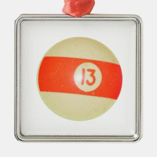 Bola de billar 13 adorno