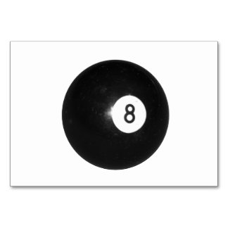 Bola de billar #8