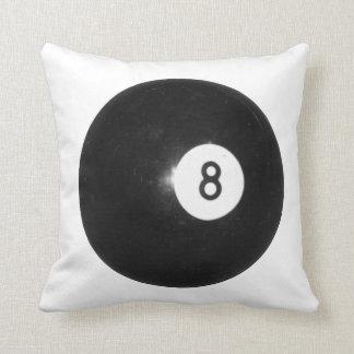 Bola de billar #8 almohada