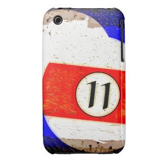 BOLA DE BILLAR NÚMERO 11 Case-Mate iPhone 3 CÁRCASAS