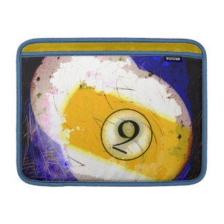 BOLA DE BILLAR NÚMERO 9 FUNDAS MacBook