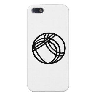 Bola de Boccia del Boule iPhone 5 Cárcasa