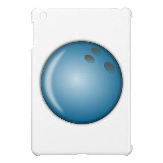 Bola de bolos azul iPad mini cobertura