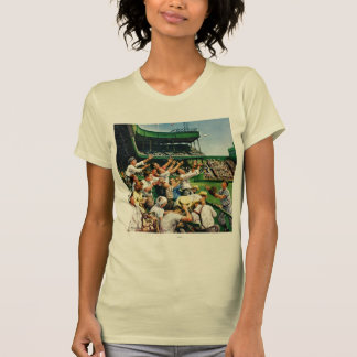 Bola de cogida del home run camisetas