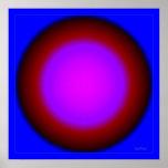 Bola de cristal de emisión poster