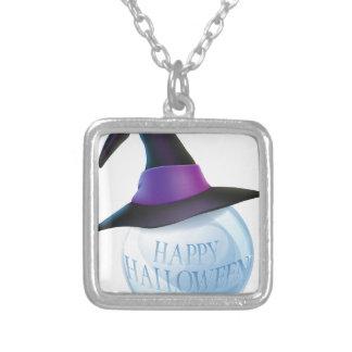 Bola de cristal de Halloween Colgante Cuadrado