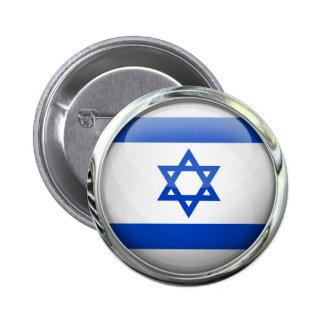 Bola de cristal de la bandera de Israel Pin