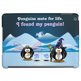 Bola de cristal de la hada del mago de los pingüin