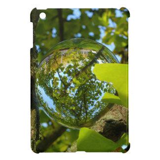 Bola de cristal en árbol del Gingko