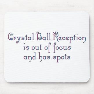 Bola de cristal alfombrilla de ratón