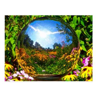 Bola de cristal postales