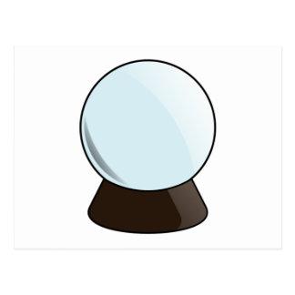 Bola de cristal postal