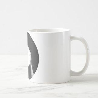 Bola de cristal taza de café