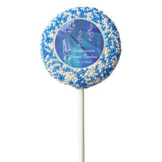 Bola de discoteca azul y dulce retro 16 del