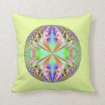 bola de discoteca colorida almohada