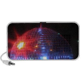 Bola de discoteca con los rayos laser iPhone altavoz